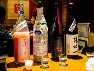 So many varieties of Sake!